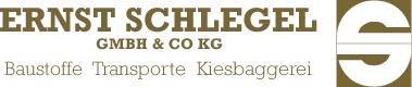 Ernst Schlegel GmbH & Co. KG # Baustoffe • Transporte • Kiesbaggerei